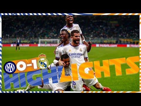 HIGHLIGHTS | Inter 0-1 Real Madrid | Rodrygo's GOAL!