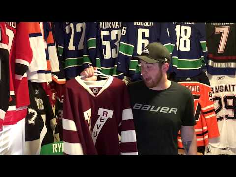 My Jersey Collection! How I Get Cheap NHL Jerseys.