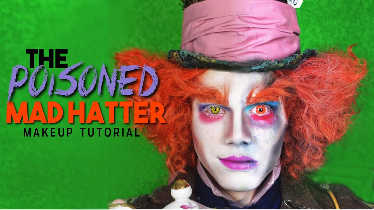 The Poisoned Mad Hatter Makeup Tutorial - NYX Face Awards 2016 ...