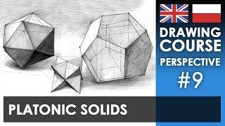 Drawing tutorial - Platonic solids | Kurs rysunku - Bryły platońskie [S01E09 ENG/PL]