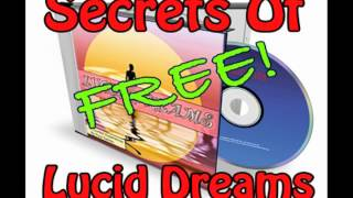 FREE AUDIO Sleep Lucid Dream Secrets Be 100% Control Of Your Dreams Paul Santisi