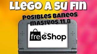 11.8 Fin de la freeshop?Nintendo con todo ante la pirateria