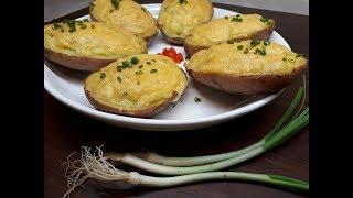 Кулинария с Лизой -Запеченный картофель в духовке