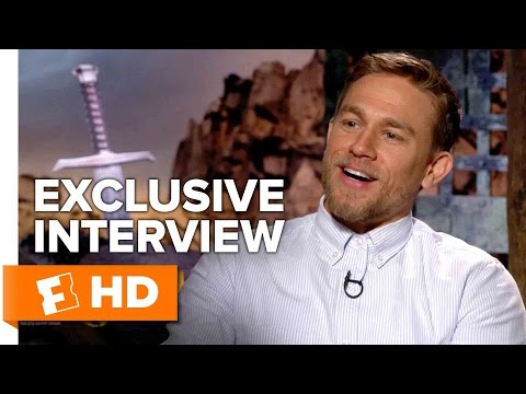 Charlie Hunnam's Nickname - King Arthur: Legend of the Sword (2017) Interview | All Access