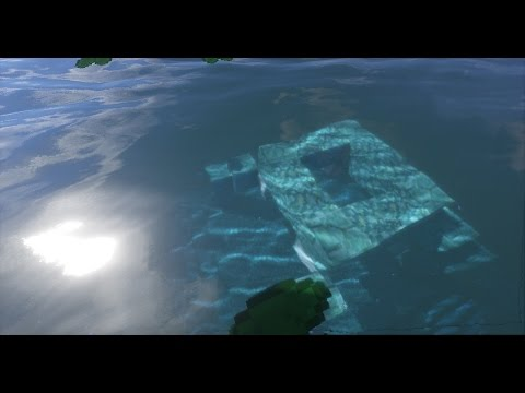 Minecraft 2b2t: REALISTIC Undersea Building w/ Shaders