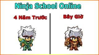 ►Ninja School Online   Up Level và Yên 4 Năm Trước Và Bây Giờ