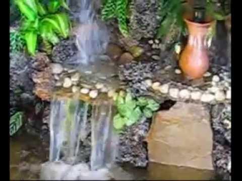 Cascadas y fuentes shalom youtube - Fuentes y cascadas de agua para jardin ...
