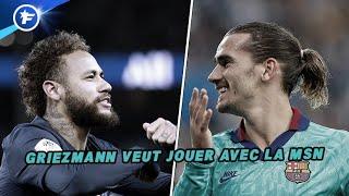 Antoine Griezmann dit oui au retour de Neymar au Barça | Revue de presse