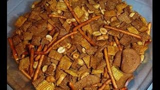 Crazy Flavorful Homemade Chex Mix Recipe- Become Your Own Favorite Chef  with Amy Westerman