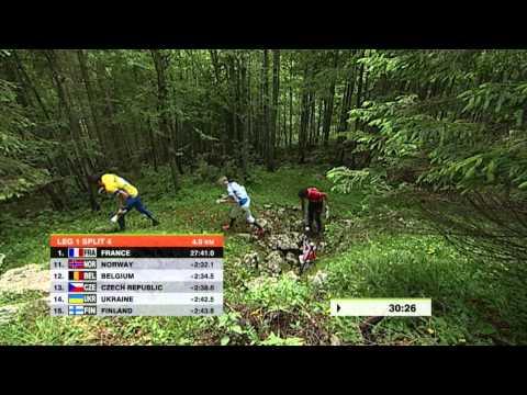WOC 2014, Relay 12.07.2014, Orienteering, Italy, Swedish language