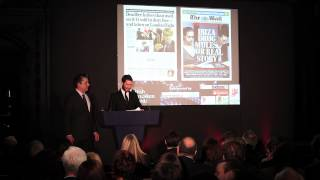 British Journalism Awards 2013 - New Journalist of the Year