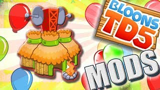 SPECJAL:  PROTECT MONKEY TOWN      MODS      #83    Bloons TD5 Expansion   PL