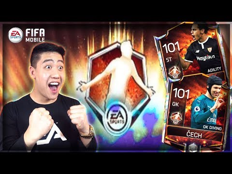 35x MAN OF THE MATCH PACK OPENING!! Master CECH & BEN YEDDER!! FIFA MOBILE 18