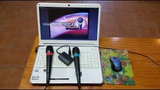 karaoke UltrStar configurar micrófonos