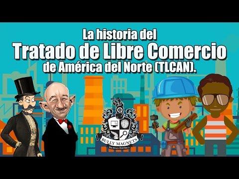 La historia del Tratado de Libre Comercio de América del Norte - TLCAN - NAFTA - Bully Magnets