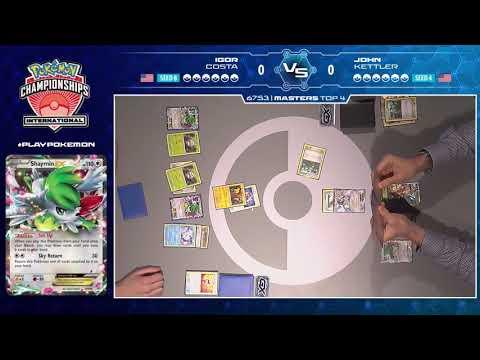 2017 Pokémon North American International Championships: TCG Masters Top 4, Match B