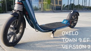 Test OXELO TOWN 9 EF V2 trottinette pour adultes by Decathlon