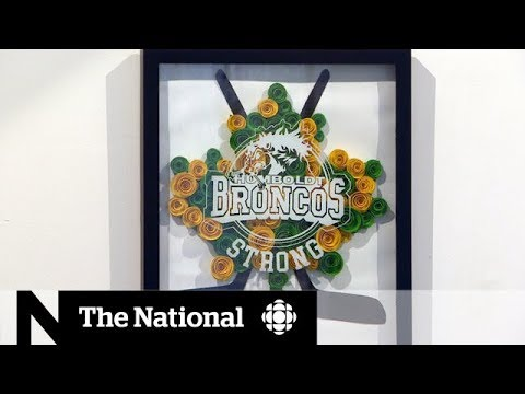 Exhibit in Saskatchewan honours Humboldt Broncos