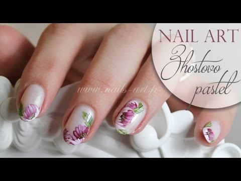 Zhostovo Nail Art Youtube 32