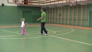 Тренировка с Альбиной. 2010-й год.