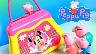 Bolsinha da Minnie Mouse Elka Brinquedos do desenho Loja de Laços da Minnie Completo em Portugues BR