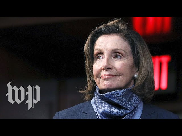 WATCH: Pelosi holds weekly news conference amid coronavirus aid discussions