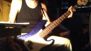 """ZZ Top - """"Gimme All Your Lovin"""" Bass Cover"""