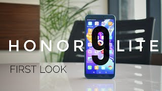 Honor 9 Lite - 4 Cameras at Rs 11,000 - First Look