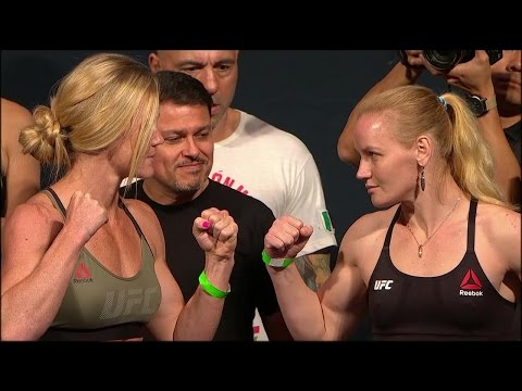 Holly Holm vs. Valentina Shevchenko | Weigh-In | UFC ON FOX