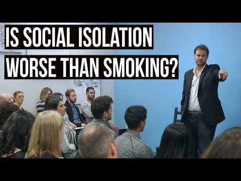Social Isolation - Worse Than Smoking w/ James Maskell