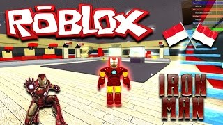 Jadi IronMan | SuperHero Tycoon Roblox Indonesia