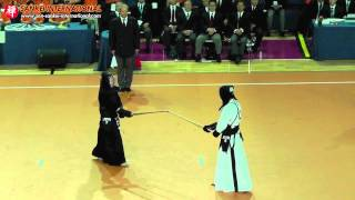 Kendo「剣道」- 15th WKC Men Individual Final (Japan vs Korea) [VID:20120525001]