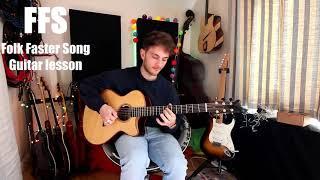 FFS (Folk Faster Song) Guitar Riff Lesson!