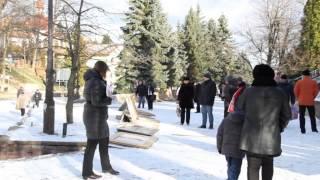 Курорт Трускавец Украина 6 декабря  2013