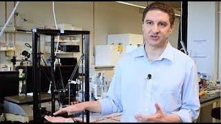 UMN Professor Michael McAlpine talks about his 3D-printing research
