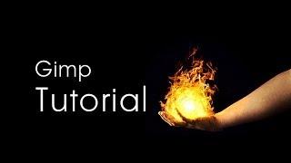 Gimp Tutorial: Realistic Fireballs