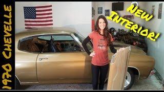 1970 Chevelle Gets Interior! - Vice Grip Garage EP18