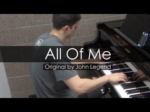 """All Of Me"" - John Legend (Piano Cover) - Niko Kotoulas"