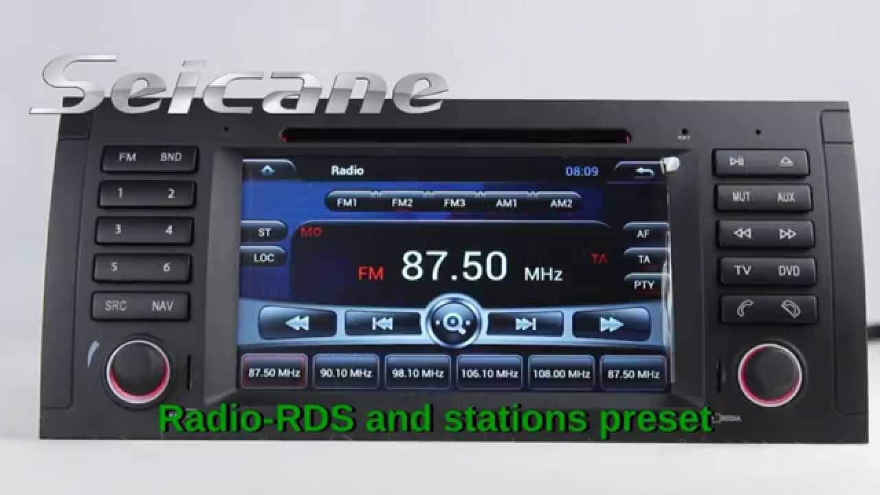 1996 2003 bmw e39 520i 523i 525i 528i se 530i 535i 540i m5 android bmw radio wiring diagram 1996 2003 bmw e39 520i 523i 525i 528i se 530i 535i 540i m5 android 4 2 touch screen in dash dvd youtube