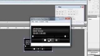 Swish Max 4 Tutorial - Simple MP 3 Player