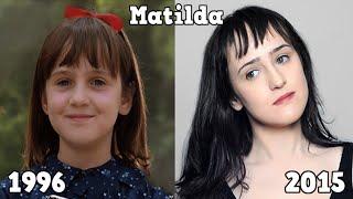 Matilda Antes y Después 2015