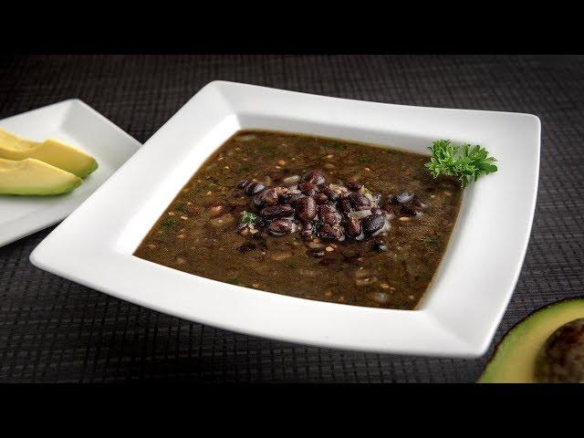 Sopa Picante de Habichuelas Negras Goya - Chef Oscar Maldonado