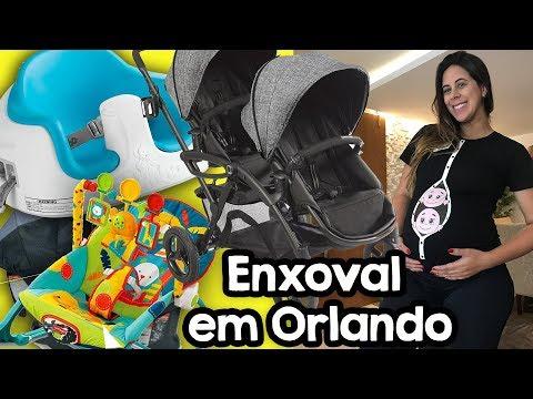Comprinhas de enxoval dos twinos em Orlando (nossos gêmeos) - Parte 3