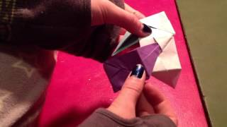 How To Make An Origami Bedside Table For Your Dolls