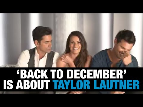 Taylor Lautner Confirms Taylor Swift's 'Back to December' Song Is About Him | WHOSAY