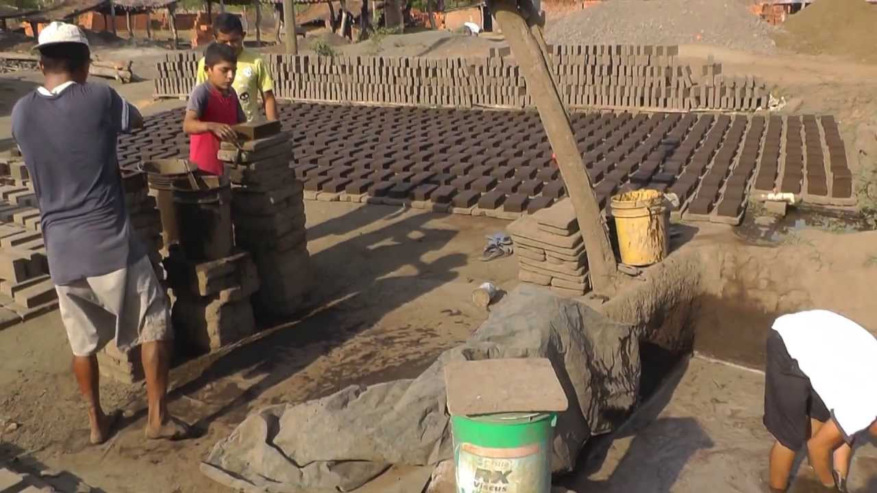 How To Make And Bake Clay Roof Tiles And Bricks Youtube