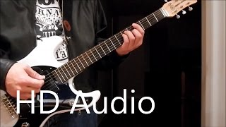 Ramones – KKK Took My Baby Away (Guitar Cover) Barre Chords, Downstroking, Johnny Ramone