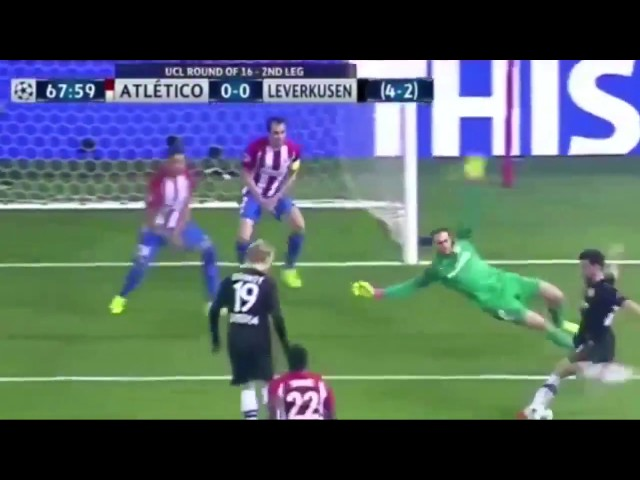 Atletico Madrid vs Bayer Leverkusen 0 - 0 || Agregat 4 - 2 || All Goals & Highlights 15 03 2017 HD
