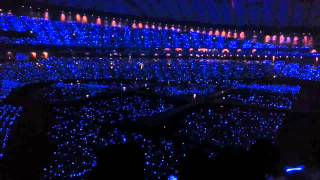 130727 Sapphire blue ocean wave in Tokyo Dome SS5   YouTube