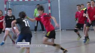 Handball : le championnat UNSS se déroulait à Plaisir